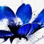 Сине-голубые цветы № 4393