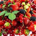 Цветы и фрукты холст 3